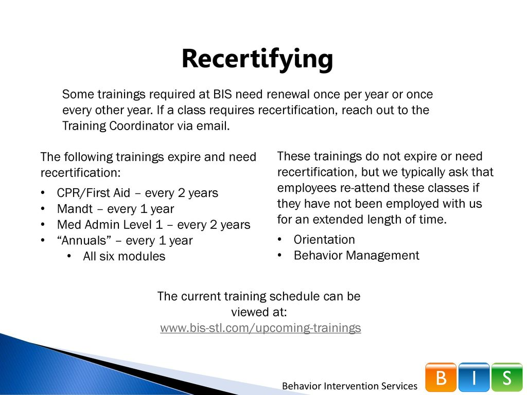 Training requirements ppt download 10 the 1betcityfo Choice Image