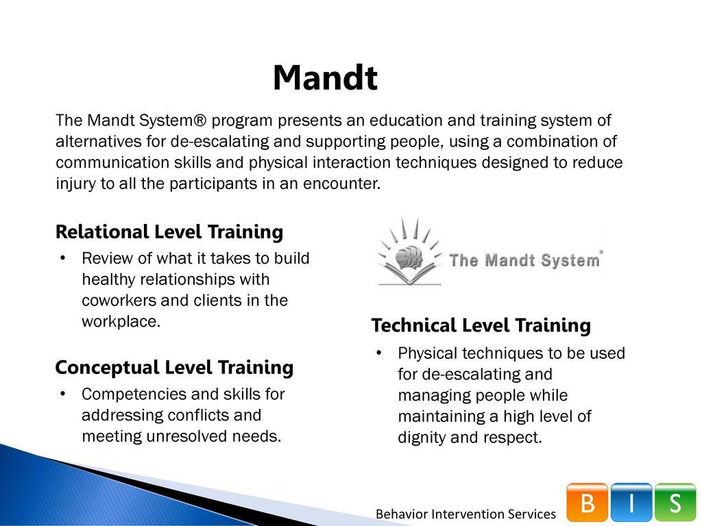 Network180 - Mandt Training