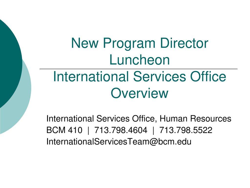 luncheon program sample