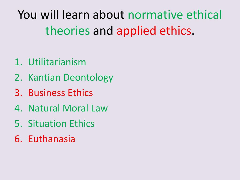 the three normative approaches to ethics Empirical data and theoretical analysis in the three articles  3  administrative ethics as a doctrine   normative approach to  administrative ethics.