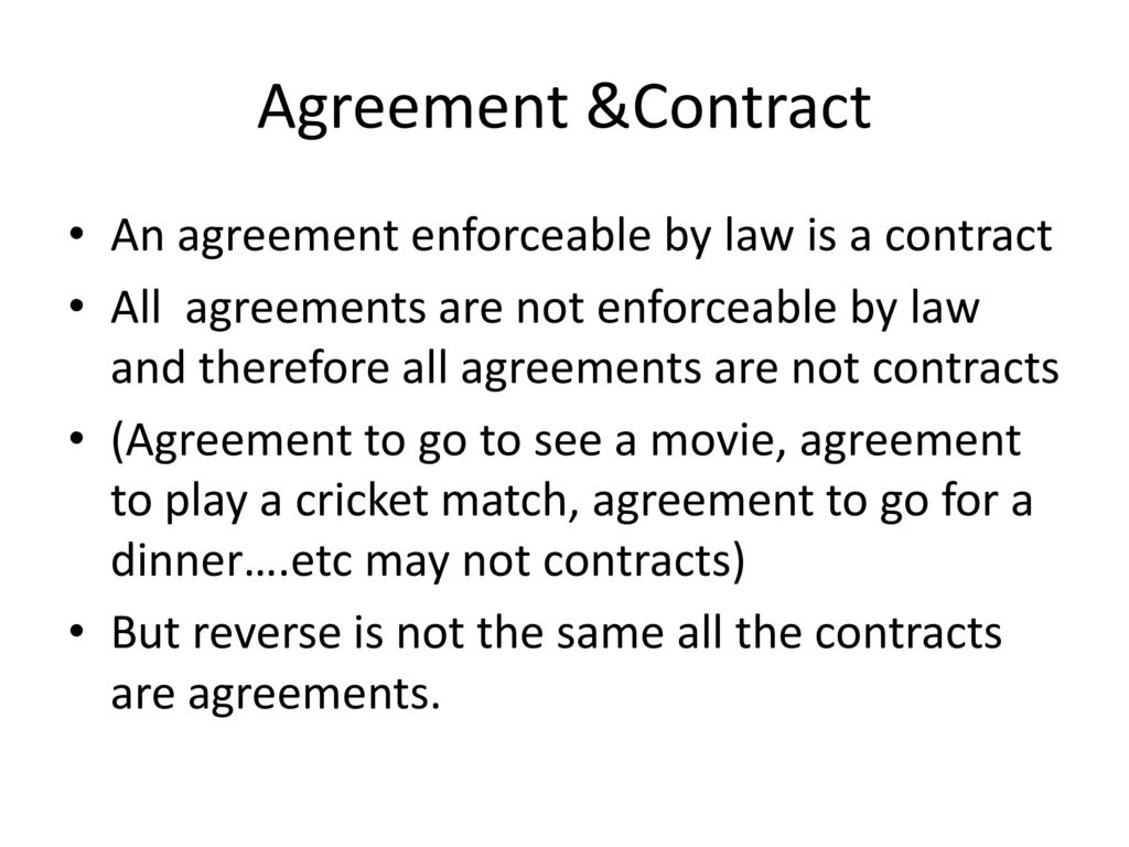 'all contracts are agreements but all But does joe public really know contracts and agreements if he does not deal  with  however, not all agreements – even those in writing – are.