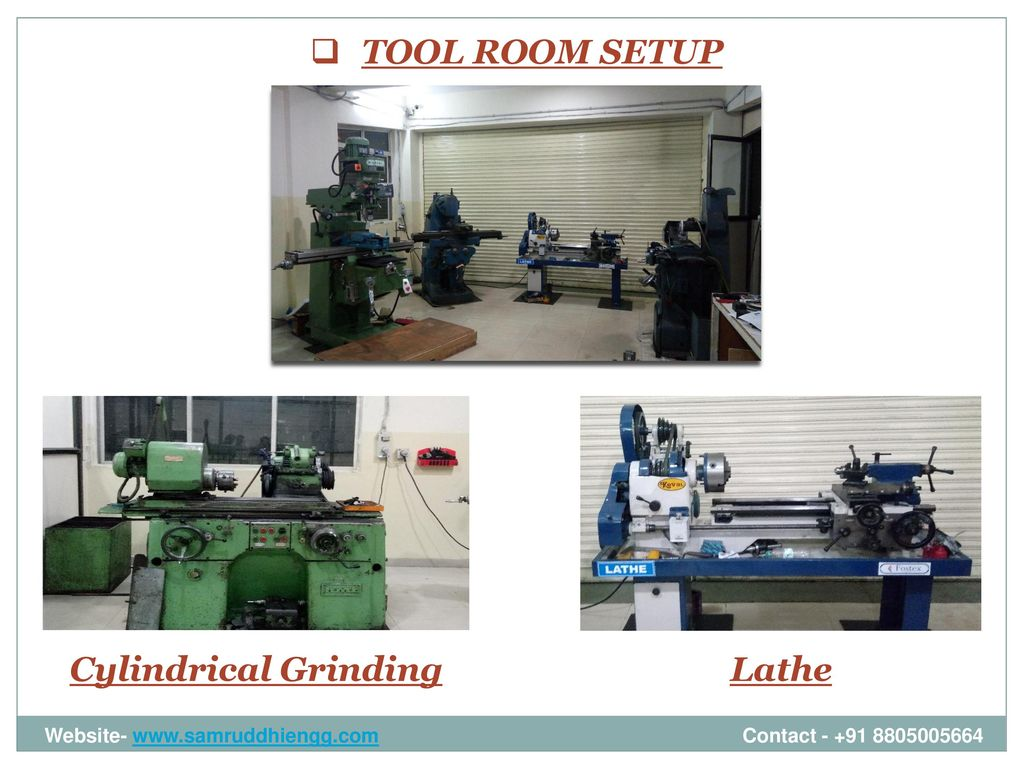 Samruddhi engineering ppt download for Room setup tool
