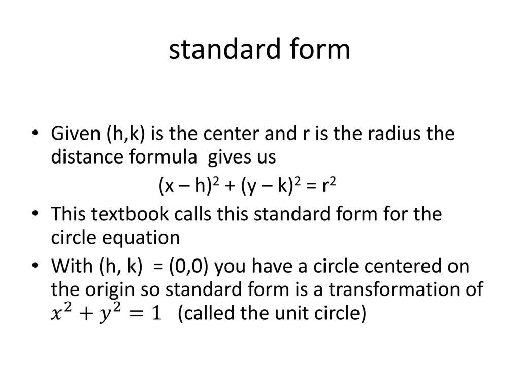 College algebra acostakarwowski ppt download 45 standard form falaconquin
