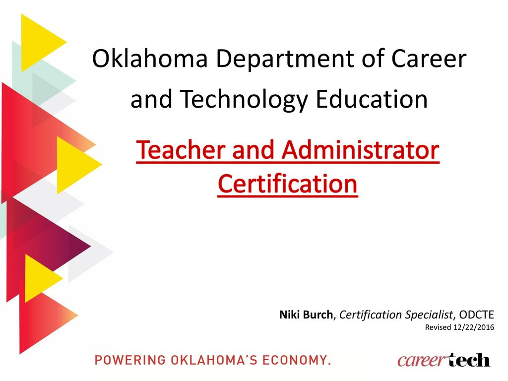 Oklahoma department of career and technology education ppt download oklahoma department of career and technology education xflitez Gallery