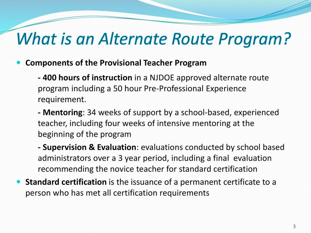 New jersey alternate route career and technical education 3 what 1betcityfo Images