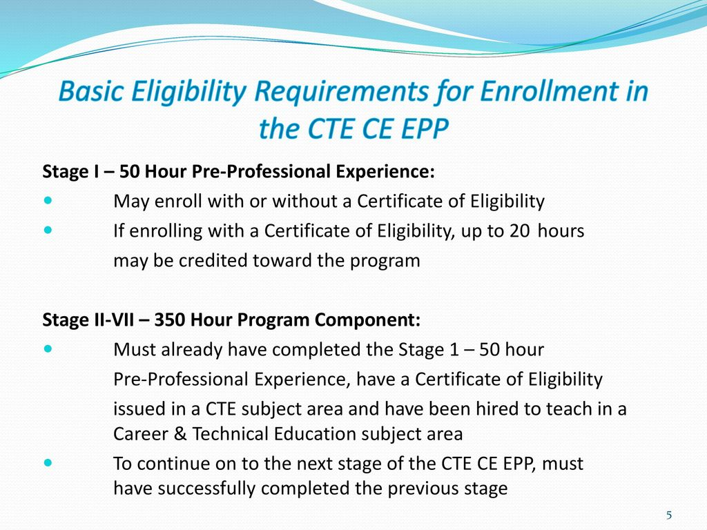 New jersey alternate route career and technical education 5 basic eligibility requirements 1betcityfo Images