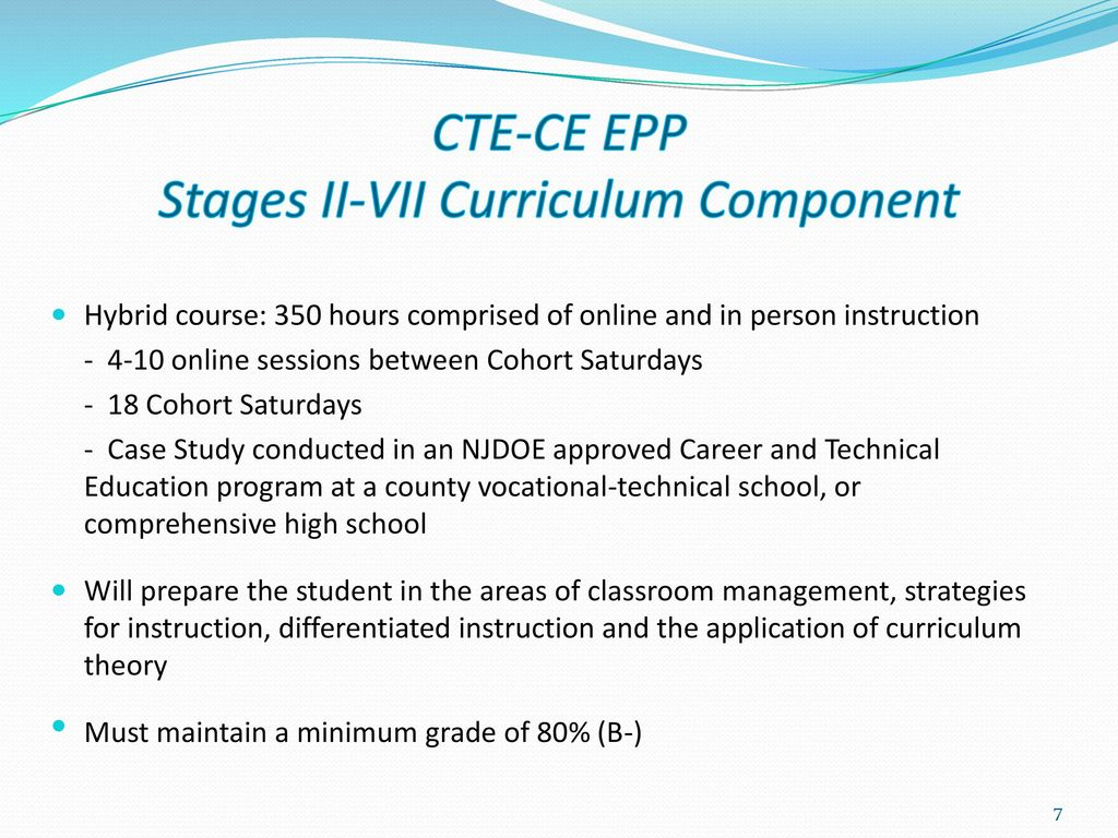 New jersey alternate route career and technical education 7 cte ce 1betcityfo Images