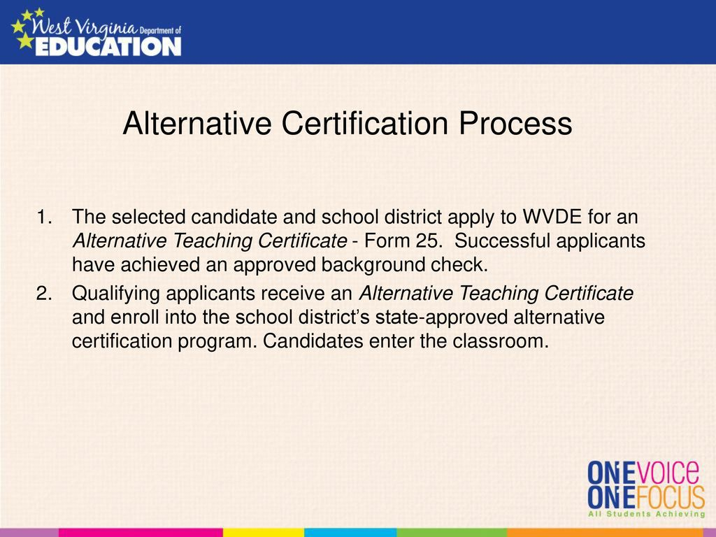 Wv association of school human resource officials 2016 annual fall alternative certification process 1betcityfo Choice Image