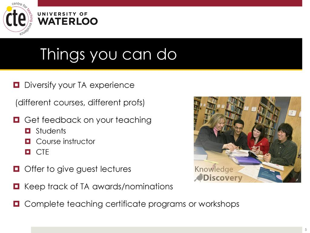 Developing your teaching skills in grad school ppt download 5 things 1betcityfo Gallery