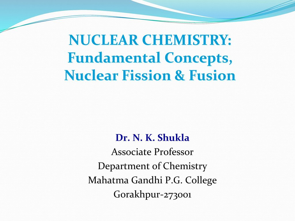 An analysis of nuclear fusion in chemistry