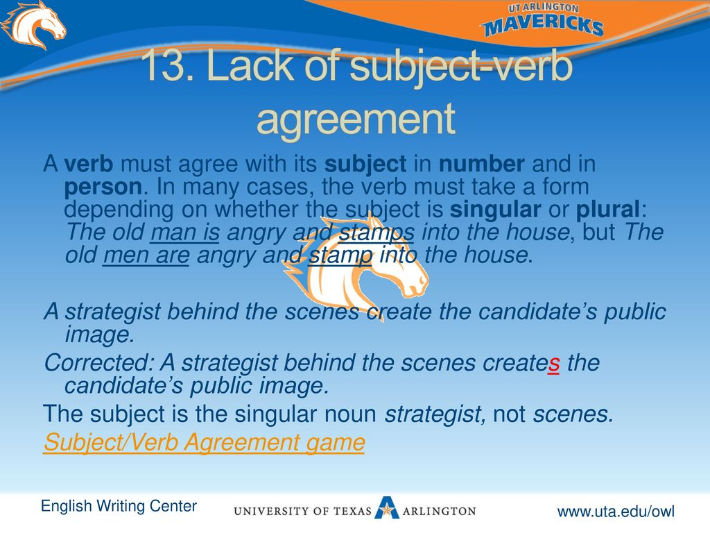 24 Inspirational Verb Agreement With Example Images Agreement