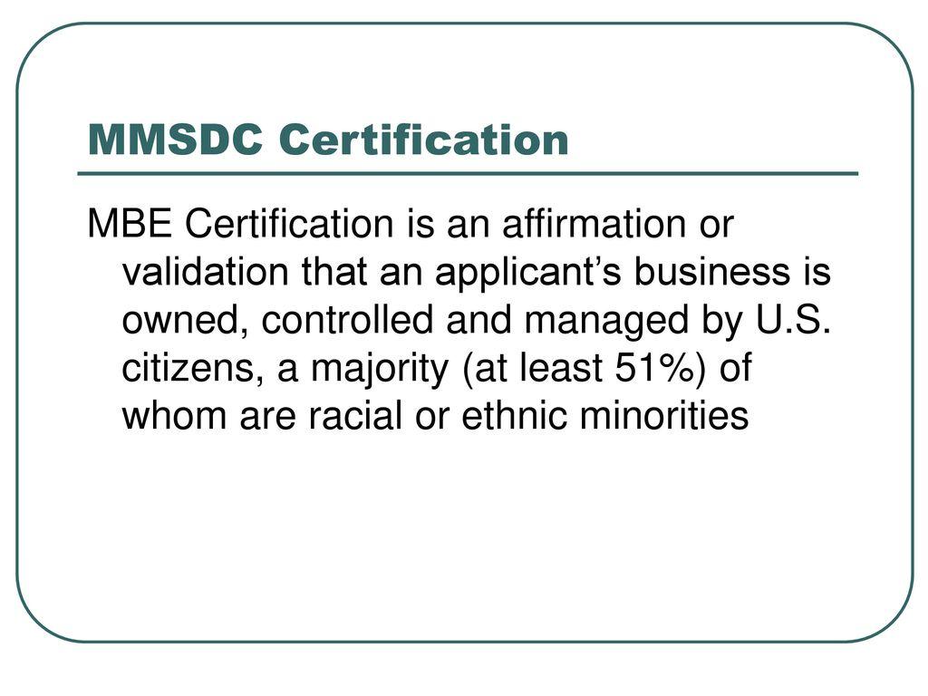 Michigan minority supplier development council ppt download mmsdc certification xflitez Gallery