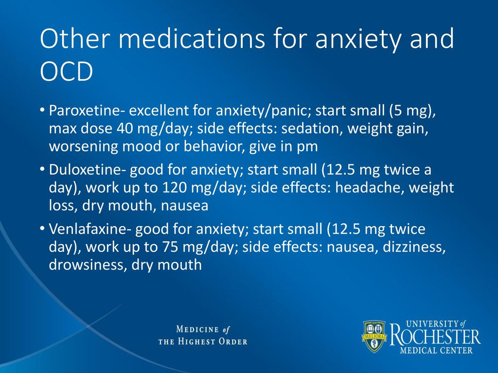 Paxil For Anxiety And Ocd