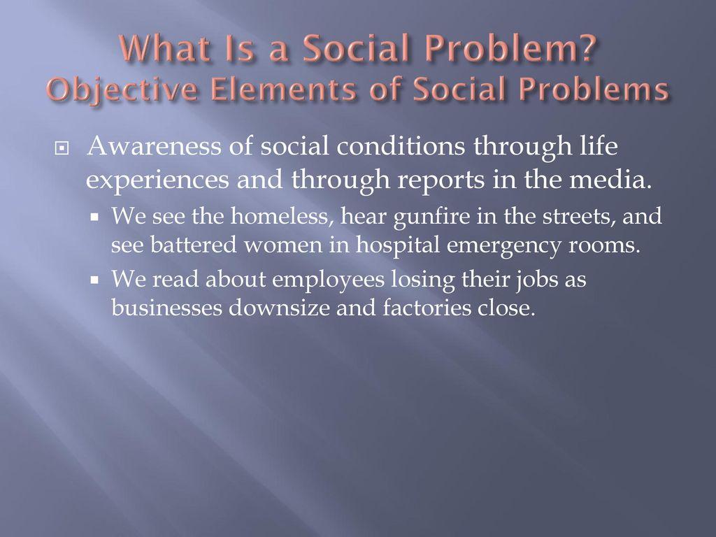 social problem essay example