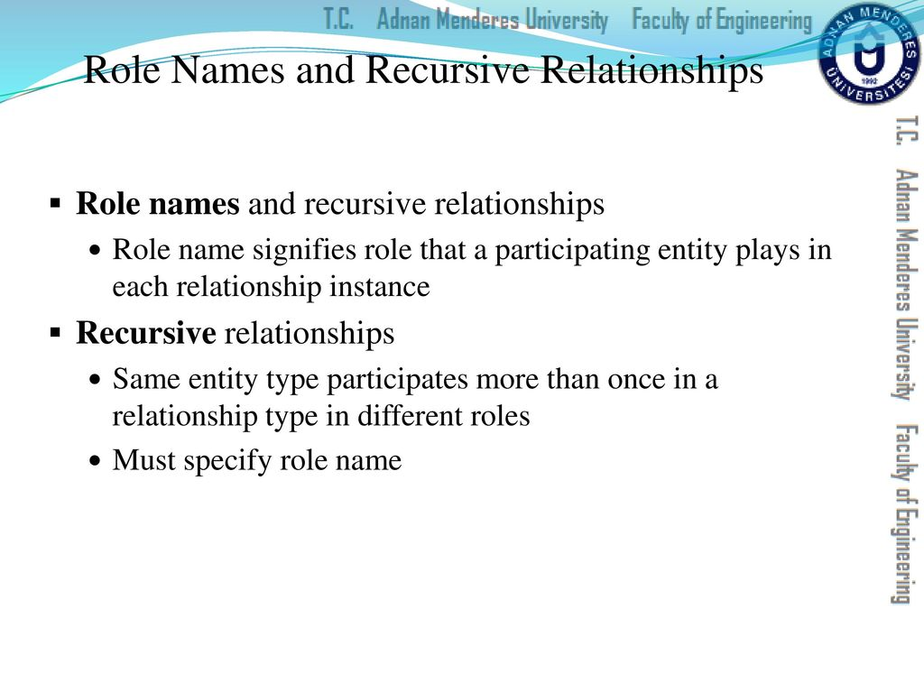 Roles responsibilities and relationships in lifelong