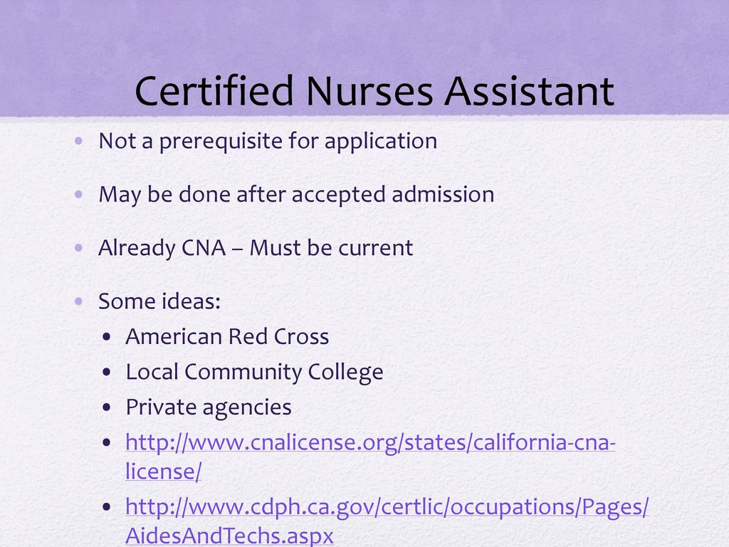 Pre licensure advisinginformation ppt download 10 certified nurses assistant 1betcityfo Image collections