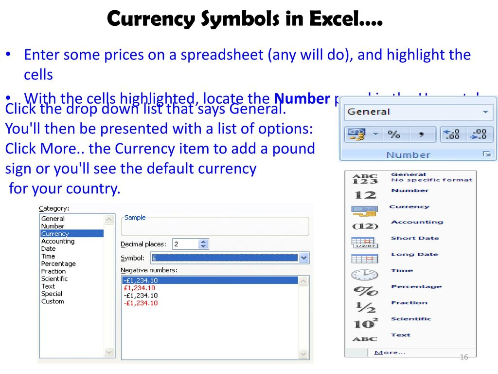 How to add currency symbol in excel images symbol and sign ideas microsoft excel symbols list choice image symbol and sign ideas lecturer dalia mirghani ppt download currency biocorpaavc