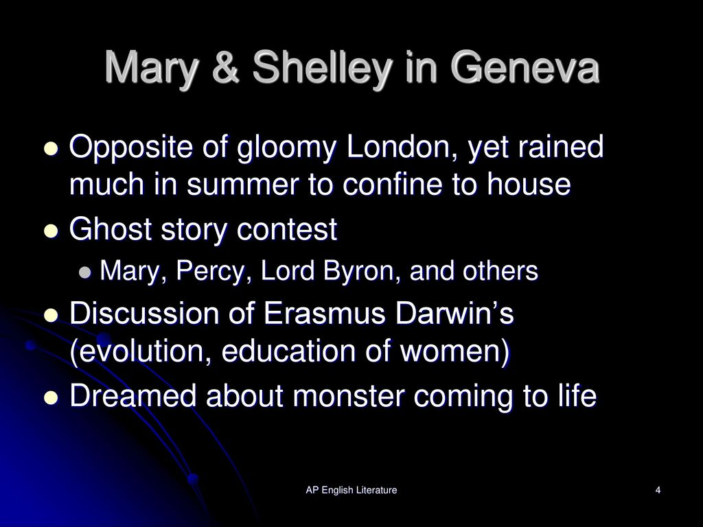 an introduction to the life of mary shelley An introduction to mary shelley's frankenstein by (from mary shelley's introduction to the 1831 edition of frankenstein) the life of mary shelley (1797.