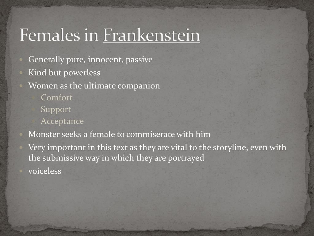 compare and contrast essay on victor frankenstein and the monster Free essay: frankenstein, the book, is meant to have connections to real life through its themes one way the author emphasis theme is through virtues and.