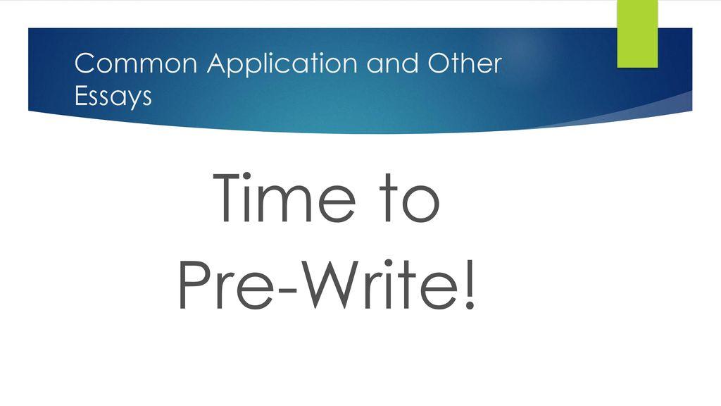 Length of common app essay