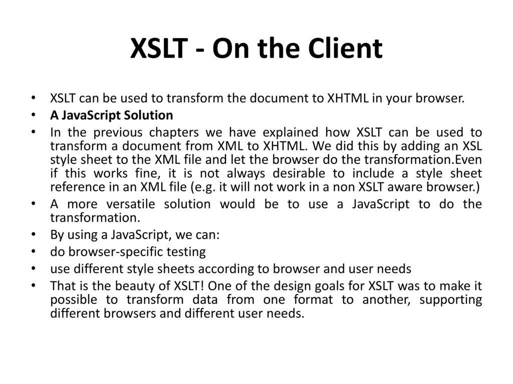Xslt introduction ppt download for Xslt table design