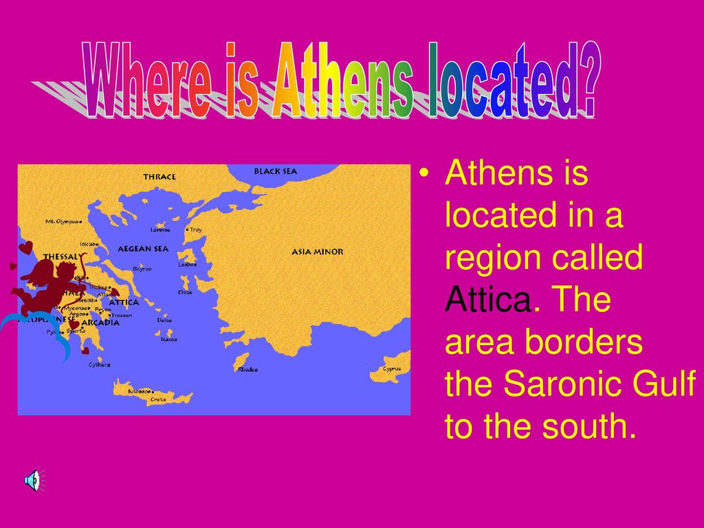 Athens And Sparta The Earliest Greek Civilizations Thrived Nearly - Where is athens located