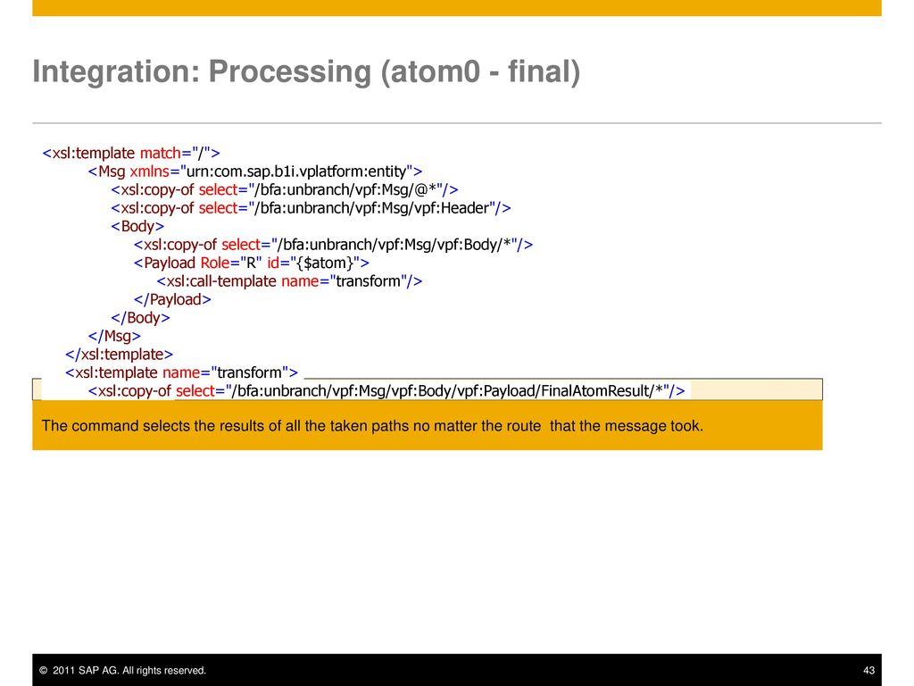 Integration framework of SAP Business One Training - ppt download
