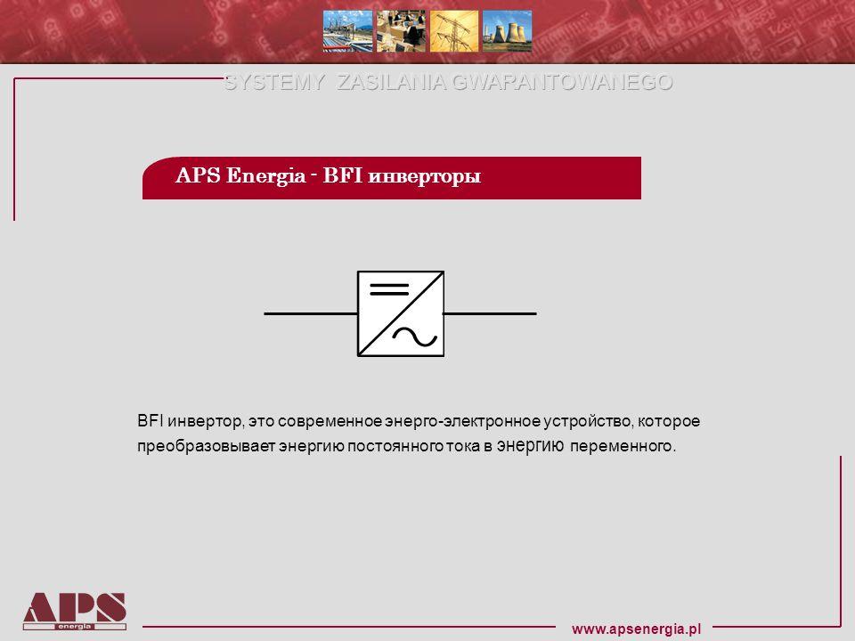 APS Energia - BFI инверторы
