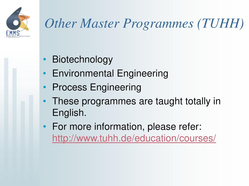Other Master Programmes (TUHH)