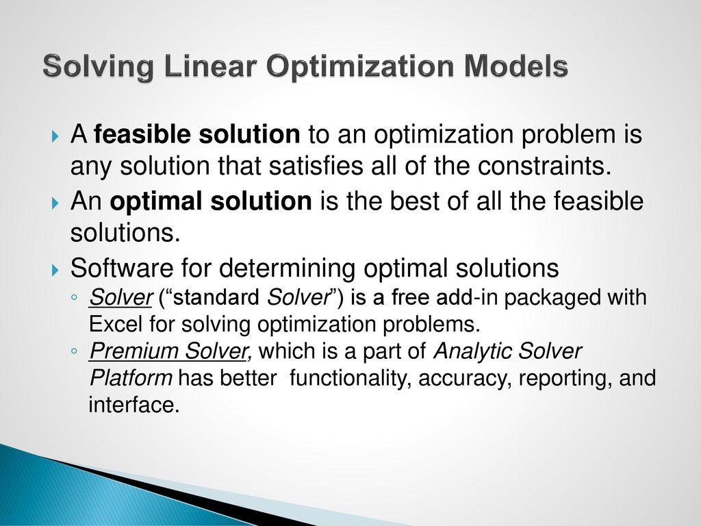 Exelent Solver Solution Motif - General Worksheet ...