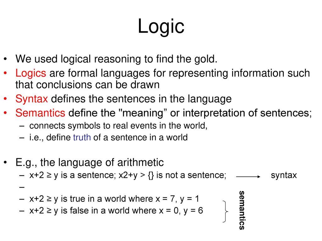 Logical symbols best way to unclog toilet diagram propositional logic logical agents part i ppt download logic we used logical reasoning to find the gold 12264703 logical symbols logical symbols biocorpaavc