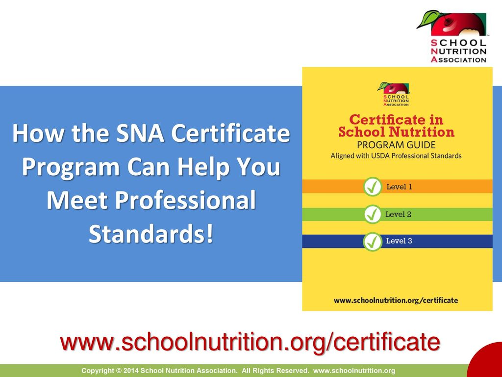How the sna certificate program can help you meet professional 1 how the sna certificate program can help you meet professional standards 1betcityfo Choice Image