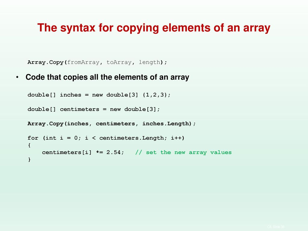 How to use arrays and collections based of murachs 2015 chapter 8 38 the buycottarizona