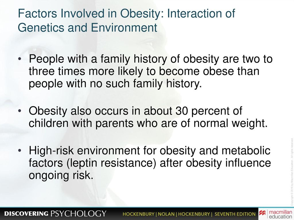 factors of obesity A 'healthy people, healthy places' briefing, this briefing summarises the importance of action on obesity and a specific focus on active travel, and outlines the regulatory and policy.