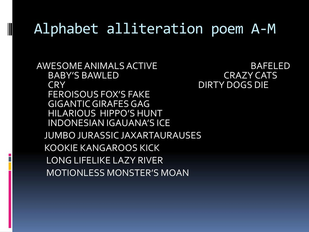 By Ai Ais Poetry Ppt Video Online Download