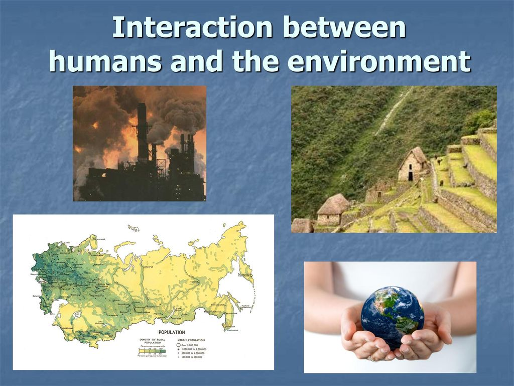 What Is Human Environment Interaction?