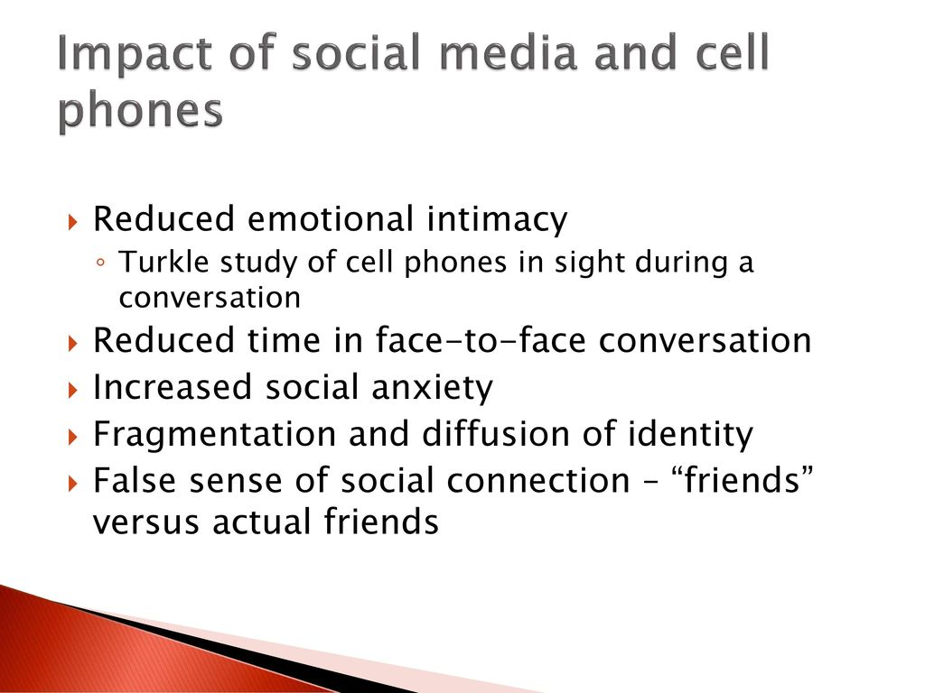 impacts of cell phones on society The pervasive use of cell phones impacts many people–both cell phone users and bystanders exposed to conversations this study examined the effects of overhearing a one-sided (cell phone.