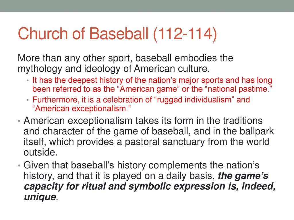 the history of baseball and how it influence american culture Most african americans were historically excluded from playing baseball with   african americans excelled on the diamond, often overcoming the influence of.