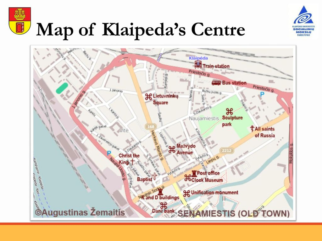 Welcome to Klaipeda Summer School program 16 August 31 August