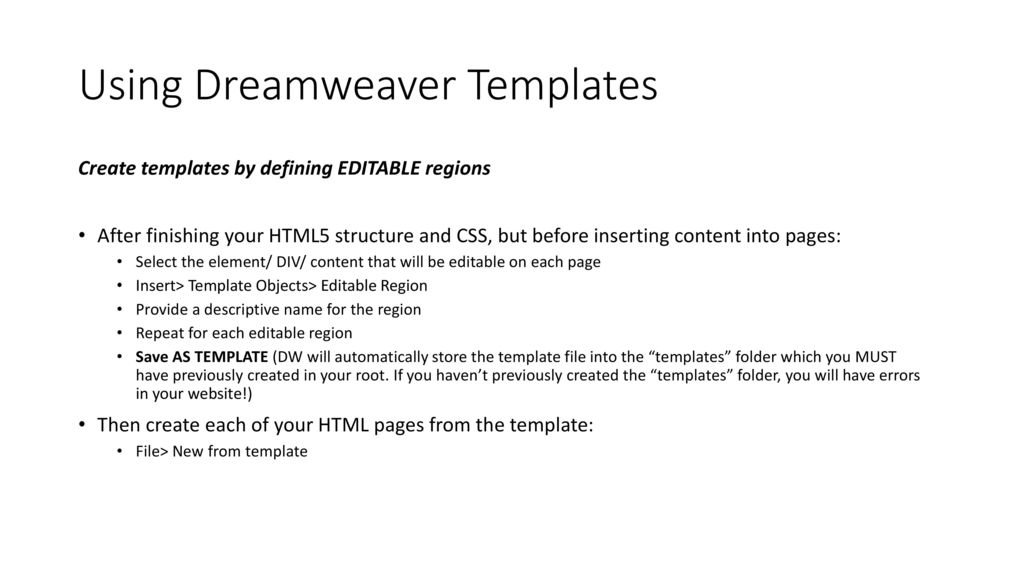 Working With Html5 Amp Div Structures Css Webfonts And