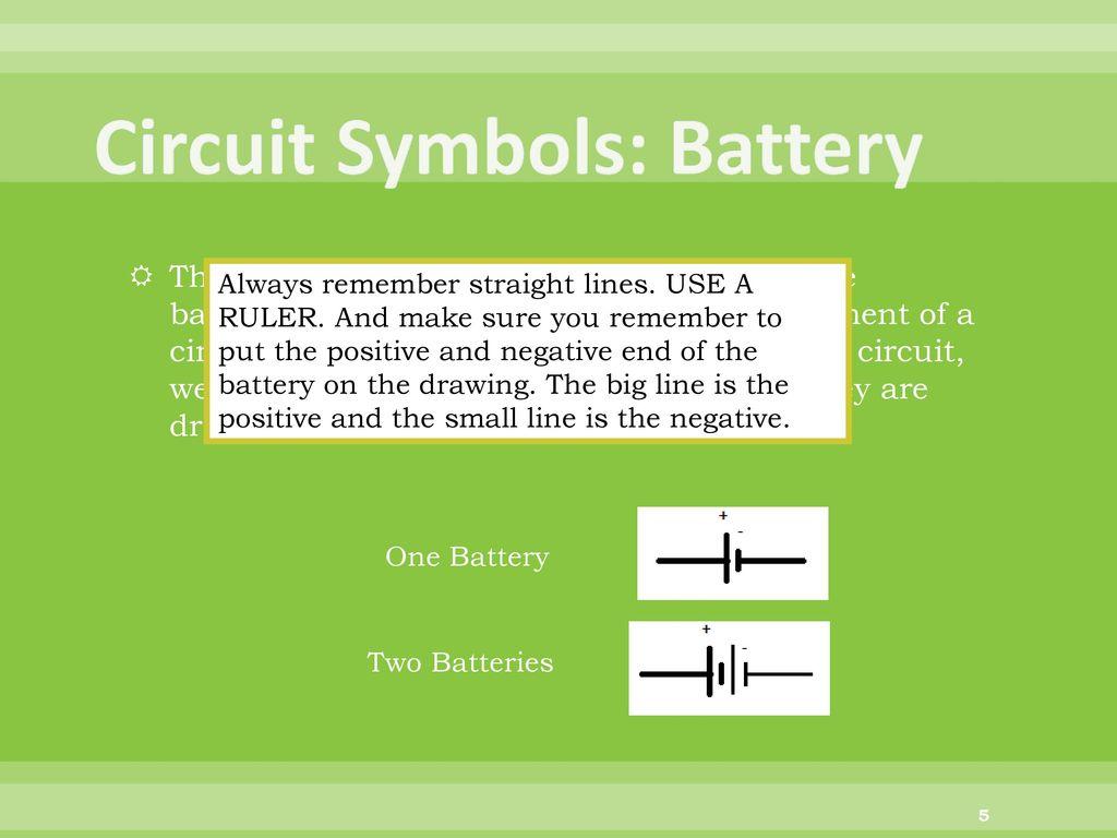 Fantastic Battery Symbol Positive Negative Adornment - Electrical ...