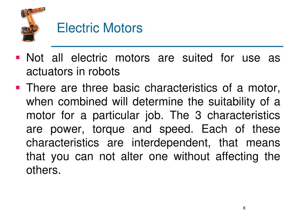 robotics unit iii drive systems ppt download