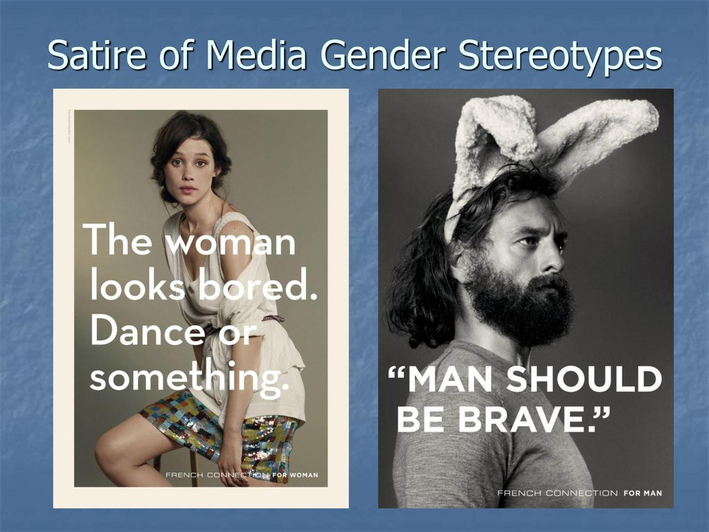 media gender stereotypes Gender stereotypes are often incorporated into media and advertising this  illustration reinforces the characteristics that society typically expects men and.