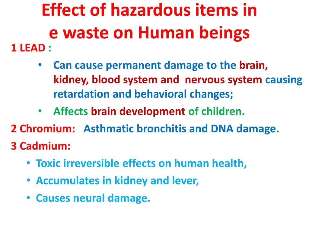 effect of cadmium on human health pdf