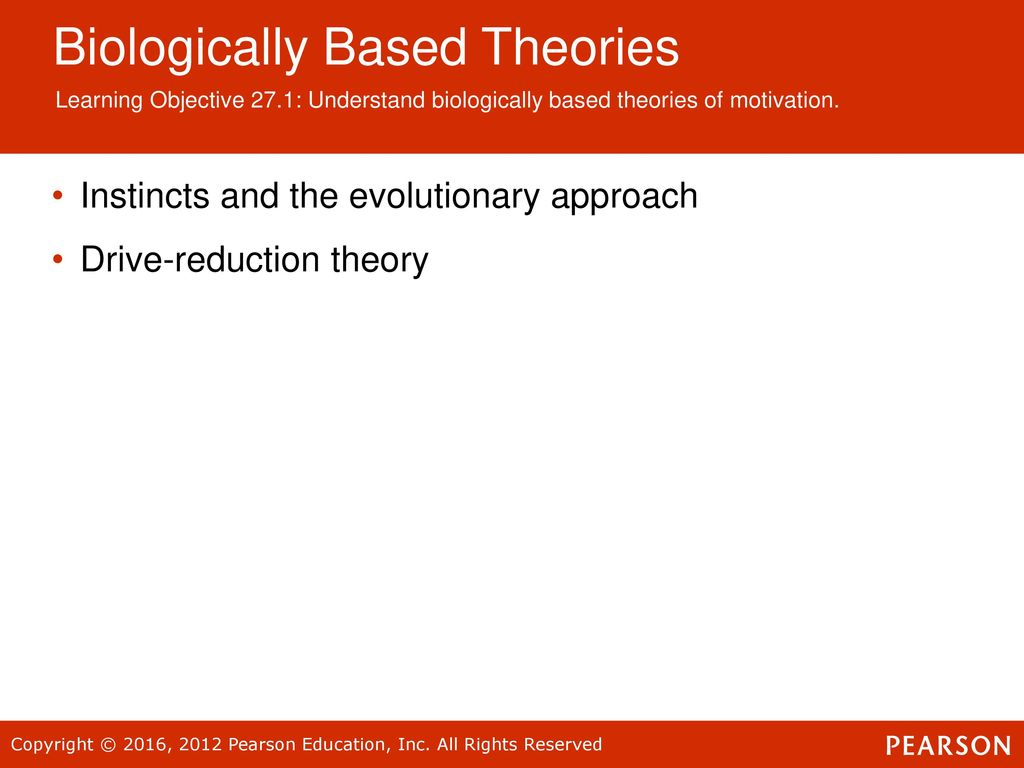 theories of motivation in psychology pdf