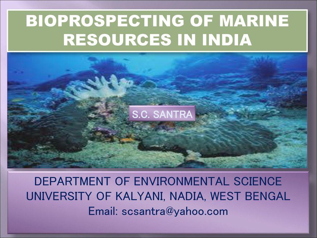 marine biology india