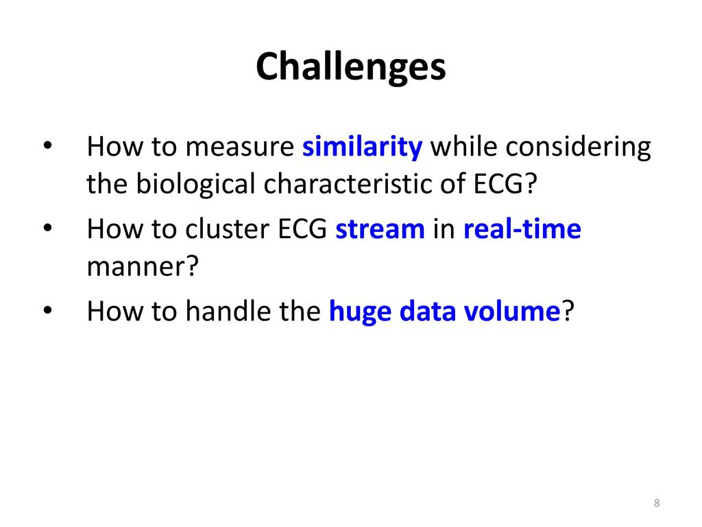 Pesc A Parallel System For Clustering Ecg Streams Based On Mapreduce Holter Various Diagram Of Machine Buy Machineholter Challenges How To Measure Similarity While Considering The Biological Characteristic Cluster