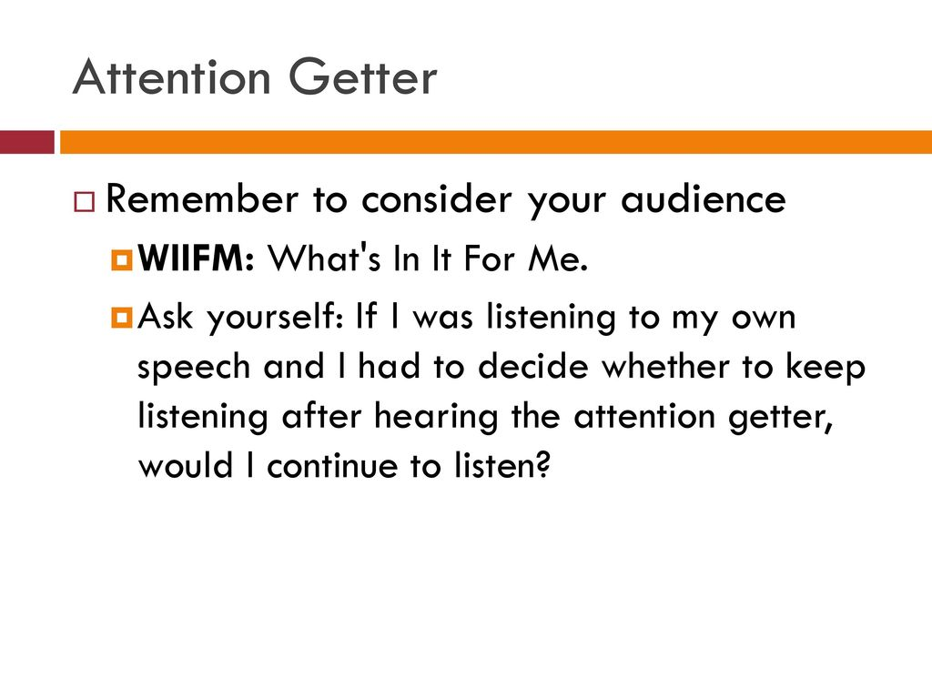 2 The Attention-Getter: The First Step of an Introduction