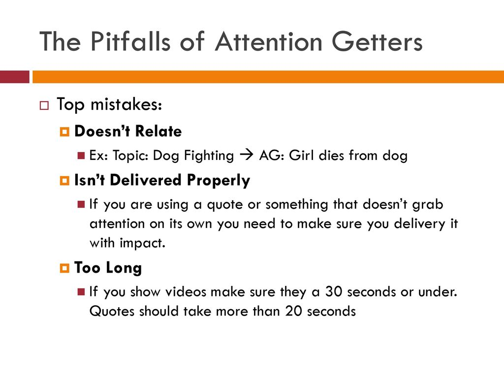 grab attention quotes