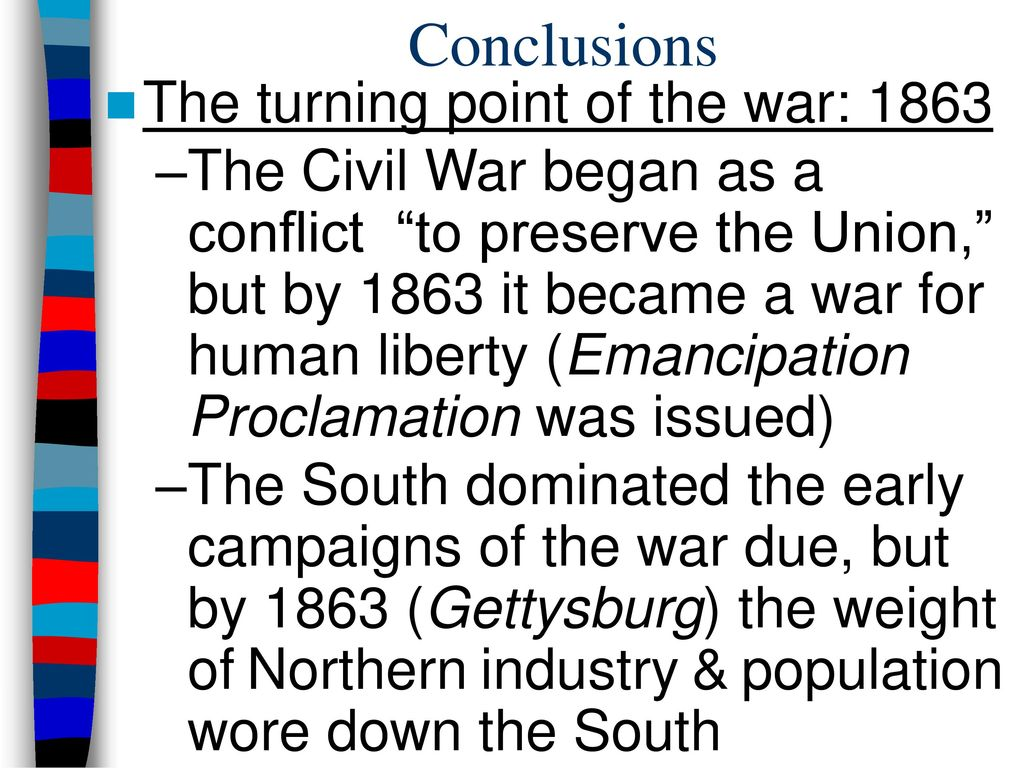 the advantages of the north and south during the civil war What were the advantages of the north during the civil warthe north had a larger population and a greater industrial capacity.